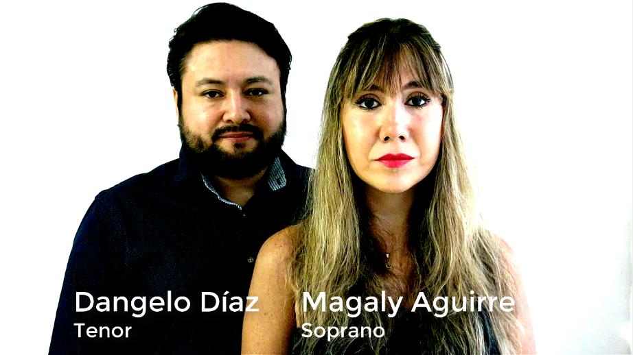 The Prayer Cover Tenor Dangelo Díaz y Magaly Aguirre dangelodiaz.com 2020